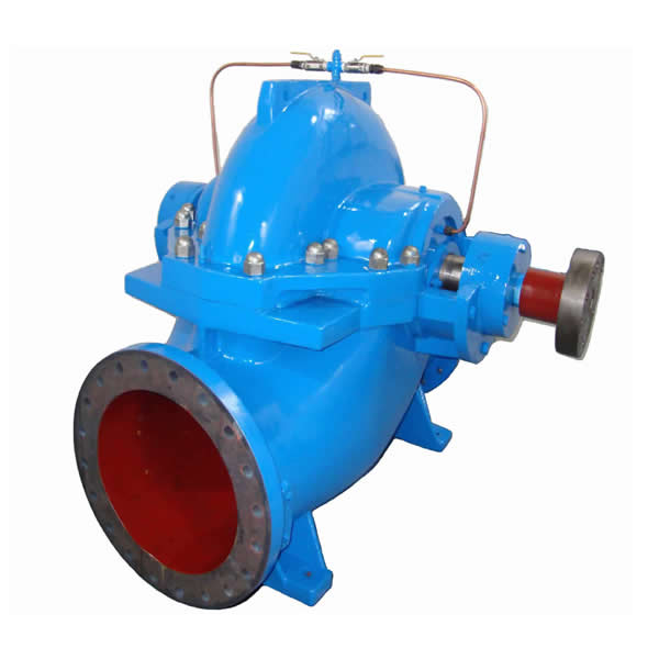 JLS single stage double suction central opening pump