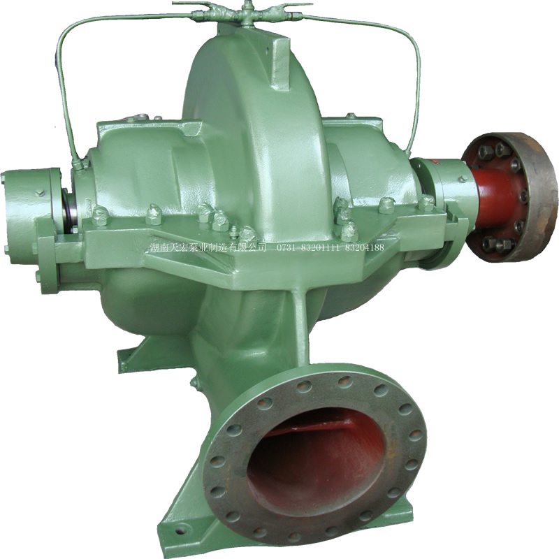JLS single stage double suction centrifugal pump
