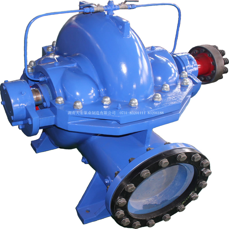 S horizontal single stage double suction centrifugal pump